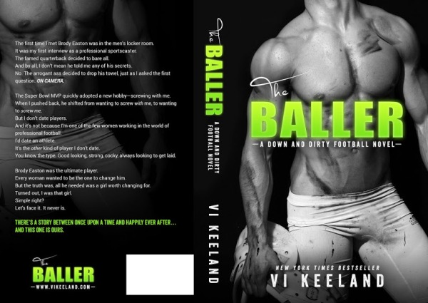 The Baller by Vi Keeland Cover