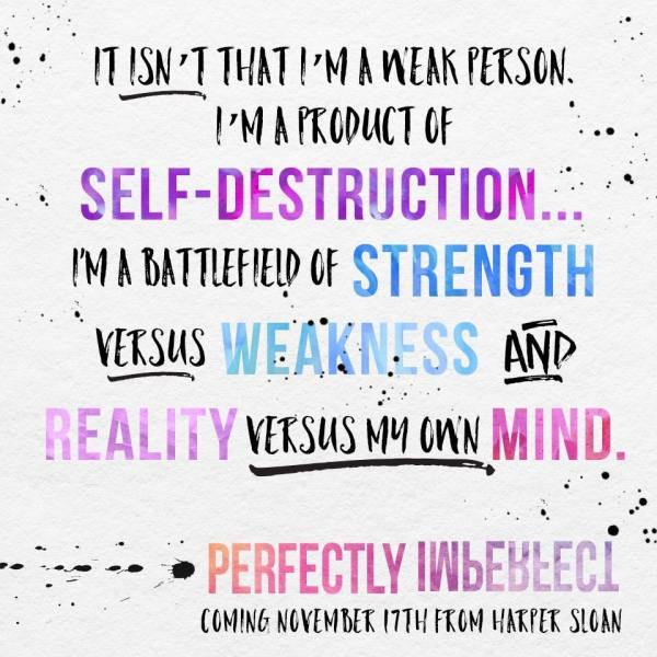 Perfectly Imperfect by Harper Sloan teaser