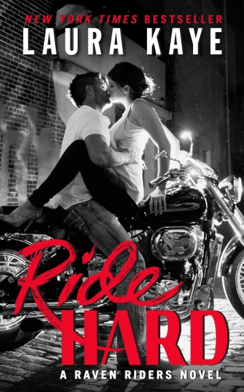 Ride Hard (Raven Riders Series) by Laura Kaye Cover