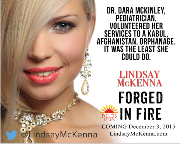 Forged in Fire (Delos Series Book 3) by Lindsay McKenna Teaser