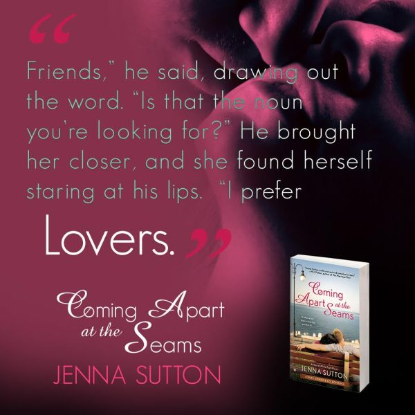 Coming Apart at the Seams (Riley O'Brien & Co. #2) by Jenna Sutton Teaser