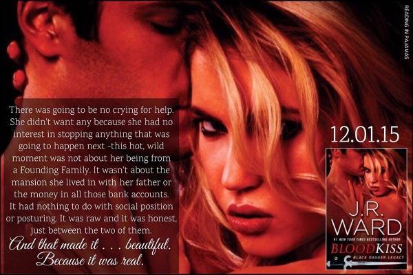 Blood Kiss by J. R. Ward Teaser