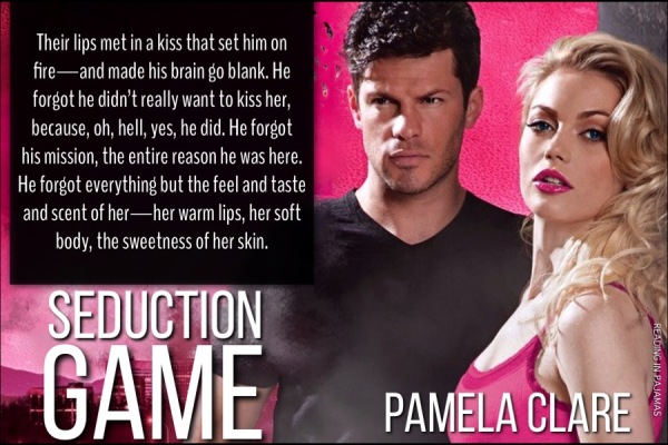 Teaser Seduction Games by Pamela Clare