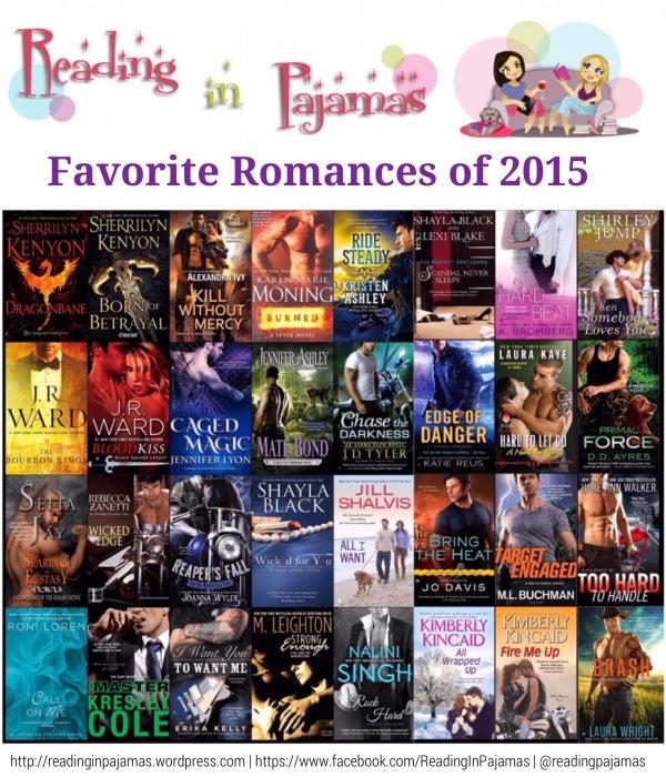 Top Favorite Romances 2015