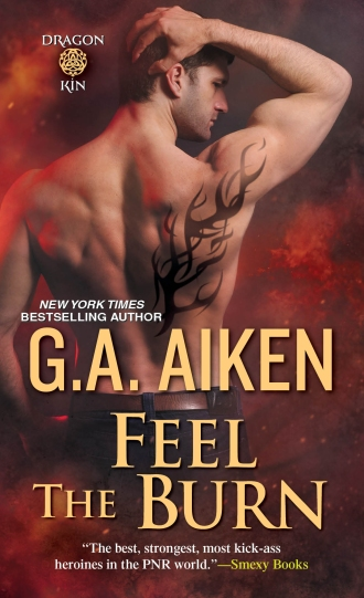 Feel the Burn by G A Aiken Cover