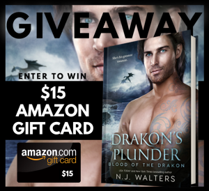 Drakon's Plunder Giveaway Graphic