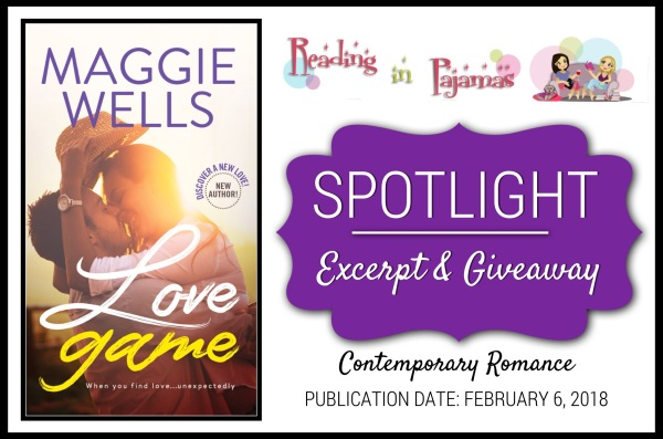 Spotlight, Excerpt & Giveaway: LOVE GAME by Maggie Wells ...